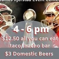 Jackpot Team Roping/ Super Bowl Party