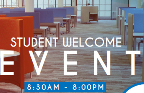 Library Student Welcome Event