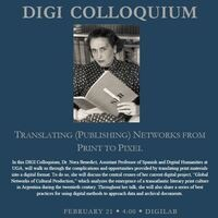 DIGI Colloquium: Translating (Publishing) Networks from Print to Pixel