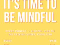 Mindfulness Mondays @ Tatkon