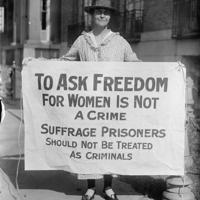 Suffrage prisoners photo