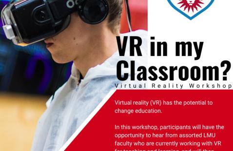 Virtual Reality Workshop Flyer