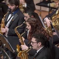University Concert Band and Symphonic Wind Ensemble