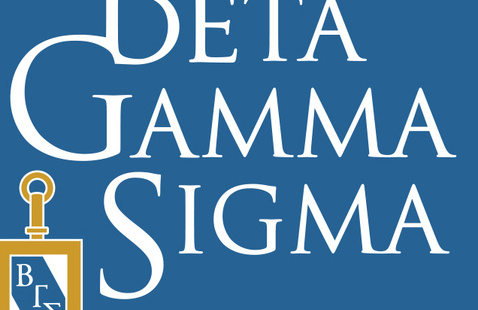 Beta Gamma Sigma Induction Ceremony & Reception