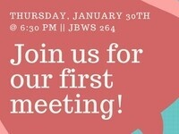 First Meeting!