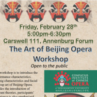 The art of Beijing Opera Workshop