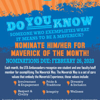 Maverick of the Month Tabling