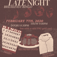 CDU Presents: Late Night Breakfast Bingo