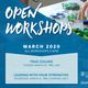 RSVP for free Open Workshops!
