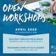 RSVP for free Open Workshops!