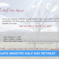 Graduate Student Ministry Half-Day Retreat