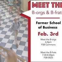 Meet the B-Orgs and B-Frats