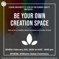 Be Your Own Creation Space | Center for Gender Equity