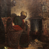 """Thomas Satterwhite Noble (American, 1835–1907), """"The Present,"""" 1865, oil on canvas. R. T. Miller Jr. Fund and Jim and Anne Sunshine (OC 1946/1947) American Art Fund, 2014.30"""