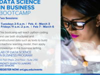 Data Science in Business Bootcamp | Tuesdays