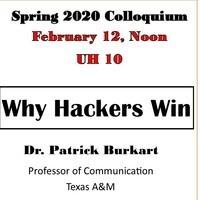 Patrick Burkart Colloquium February 12