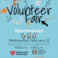 Spring Volunteer Fair