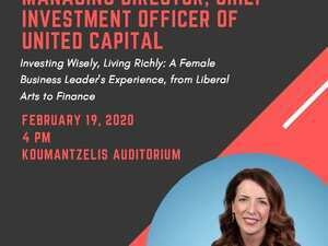 "A talk by Kara Murphy ""Investing Wisely, Living Richly: A Female Business Leader's Experience, From Liberal Arts to finance"
