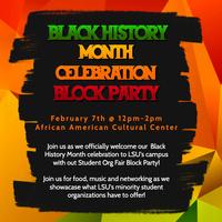 BHM Block Party