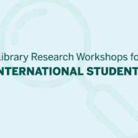 Library Research Workshop for International Students:  Citation Basics