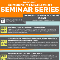 Community Engagement Seminar Series: Toppling Ivory Tower Perceptions