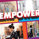EMPOWER: Council and Gestural Painting Workshop