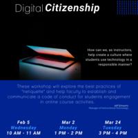 Digital Citizenship Flyer