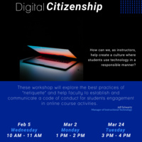 Digital Citizenship Flyer