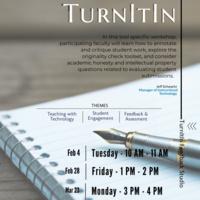 TurnItIn Workshop Flyer