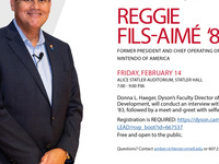 Cornell Dyson Leadership Development Presents: A live Interview & Meet-and-Greet with former President and COO of Nintendo, Reggie Fils-Aime '83