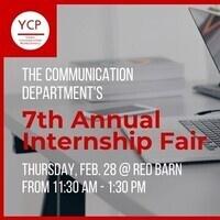 Communication Department's 7th Annual Internship Fair