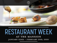 Restaurant Week at The Mansion