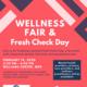 Wellness Fair & Fresh Check Day