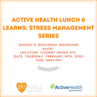 Be Well - Active Health Lunch & Learns