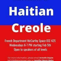 Introduction to Haitian Creole