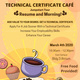 Technical Certificate Cafe