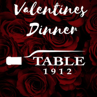 Valentine's Dinner at Table 1912