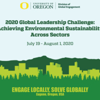 2020 Global Leadership Challenge: Achieving Environmental Sustainability Across Sectors