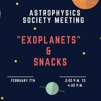 Astrophysics Society Meeting