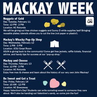 Mackay Week: Be Sweet and Get a Treat
