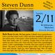 Novelist Steven Dunn & Poet Lora Straub read at MassArt 2/11 6 p.m.
