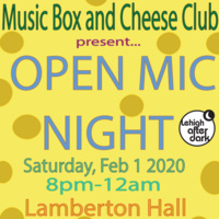 Open Mic Night with Cheese | Lehigh After Dark