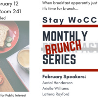 Stay WoCC: Monthly Breakfast Series