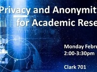 Workshop: Digital Privacy & Anonymity Basics for Academic Researchers
