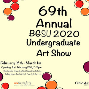 Poster for Undergraduate Art and Design Show