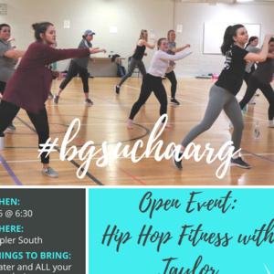 BGSU CHAARG Free Hip Hop Event