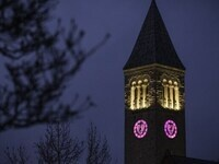 McGraw Tower with Valentine Clock Faces