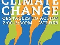 Climate Change: Obstacles to Action - Panel Discussion