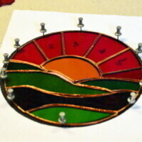 CANCELED -  Beginner Stained Glass with Kelly Devine