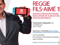 ESports Passion Forum: Evolution of a Multi-Billion Dollar Business with former President and COO of Nintendo, Reggie Fils-Aime '83